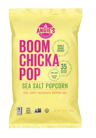 $1.99 - 67% Off! Save  Up to $4.00 on Angie's Boom-Chika-Pop Sea Salt Popcorn - 6 pack*